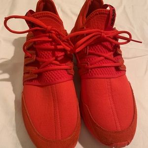 Red Adidas Sneakers **NEVER WORN**